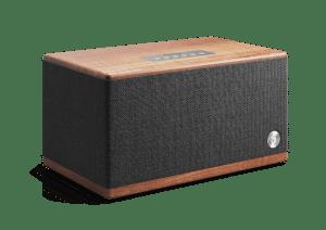 wireless-bluetooth-speaker-BT5-walnut-front-angle-AudioPro