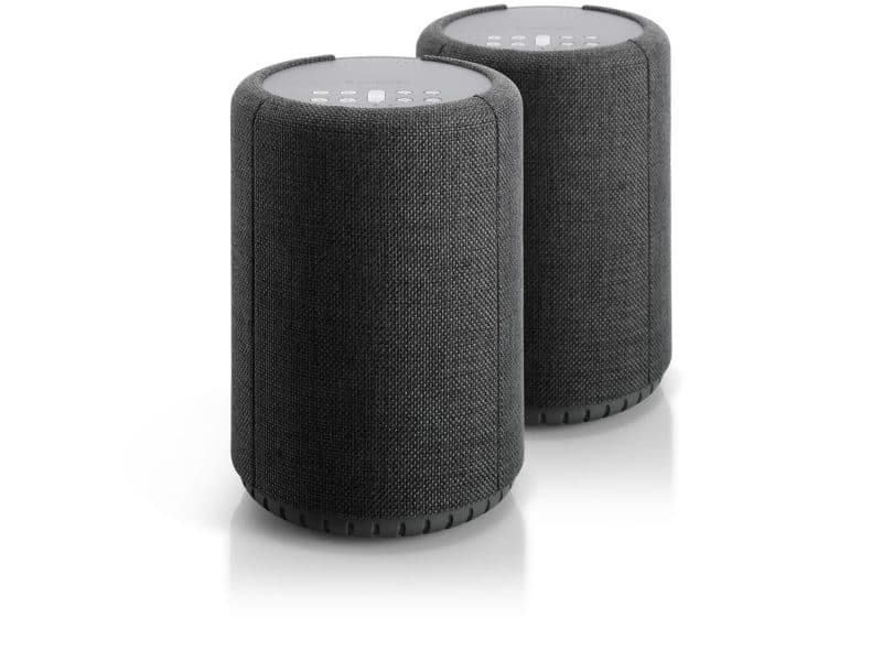 wireless multiroom speaker A10 darkgray 2pack works with alexa AudioPro e1599665751546