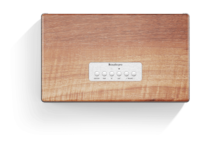 wireless-bluetooth-speaker-BT5-walnut-top-AudioPro