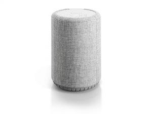 wireless-multiroom-speaker-A10-lightgray-front-works-with-alexa-AudioPro