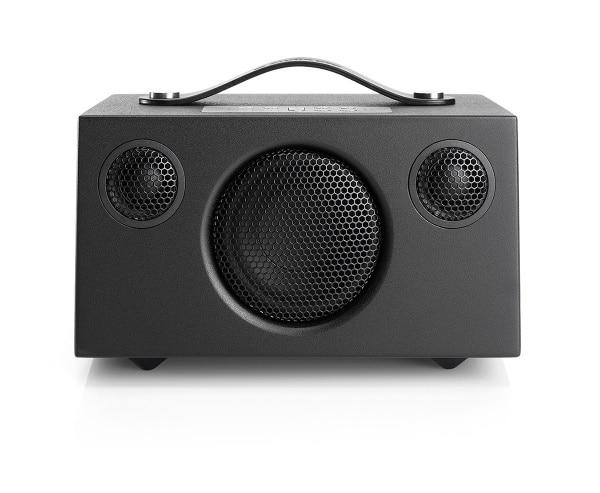 wireless-multiroom-speaker-Addon-C3-black-front-works-with-alexa-AudioPro-600x493