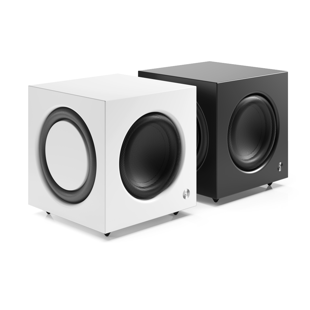x1000w Active subwoofer SW 10 Black White Group1 AudioPro