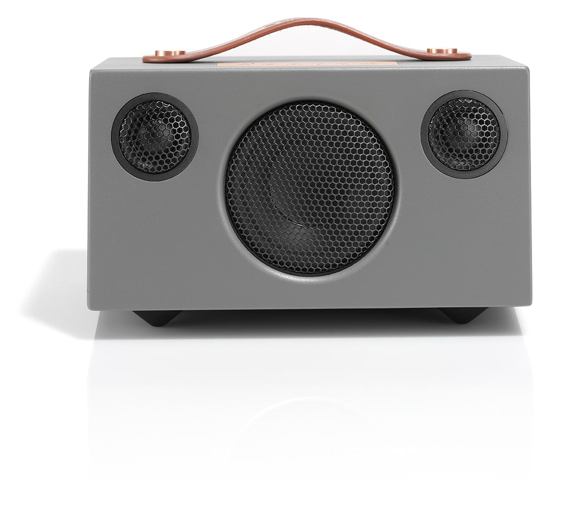 wireless-bluetooth-speaker-T3+-GREY-FRONT-AudioPro