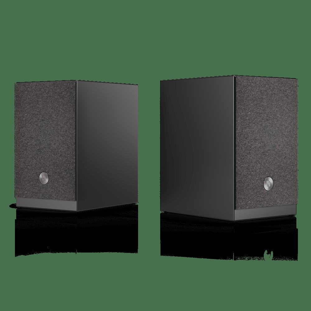 wireless multiroom speaker A26 black angle1 AudioPro e1603414768561
