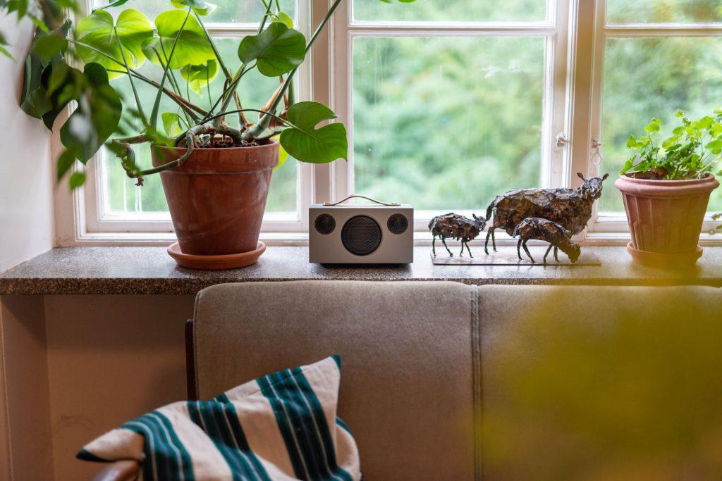 wireless multiroom speaker Addon C3 Grey works with alexa AudioPro 32