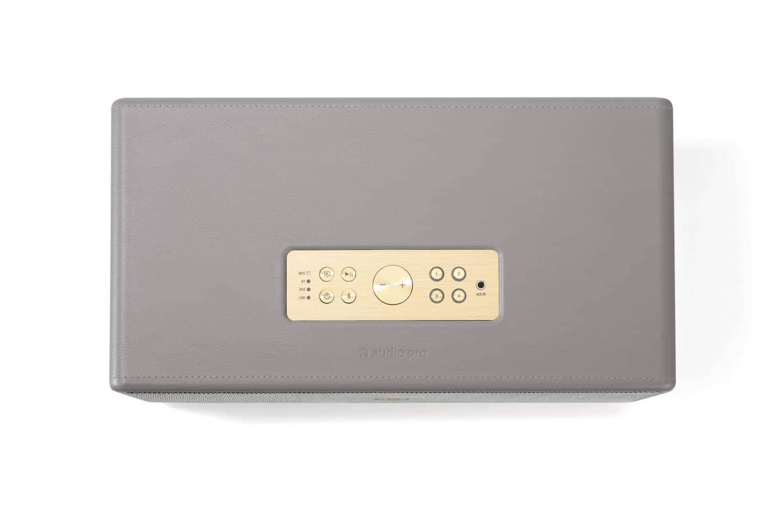 wireless multiroom speaker Drumfire D1 grey top works with alexa AudioPro 2 1 scaled e1603415017477