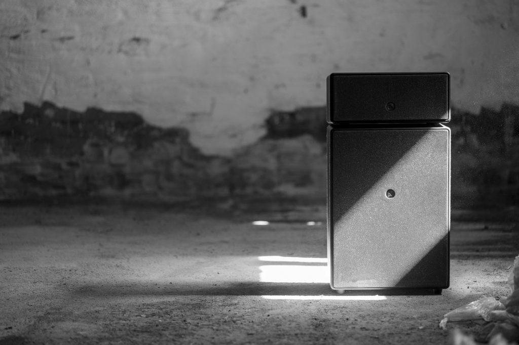 wireless multiroom speaker Drumfire black warehouse AudioPro 21