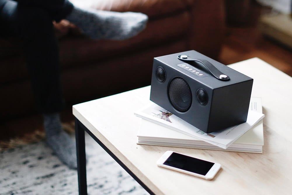 wireless portable speaker T3 BLACK AudioPro 03