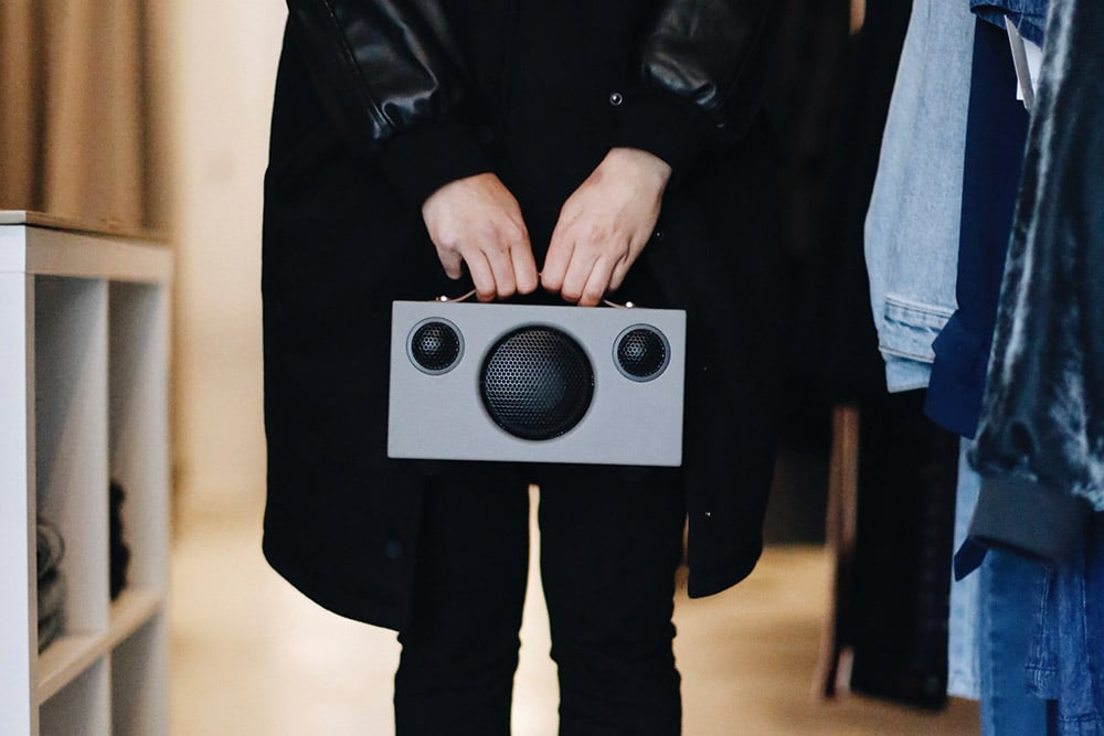 wireless portable speaker T3 GREY AudioPro 05