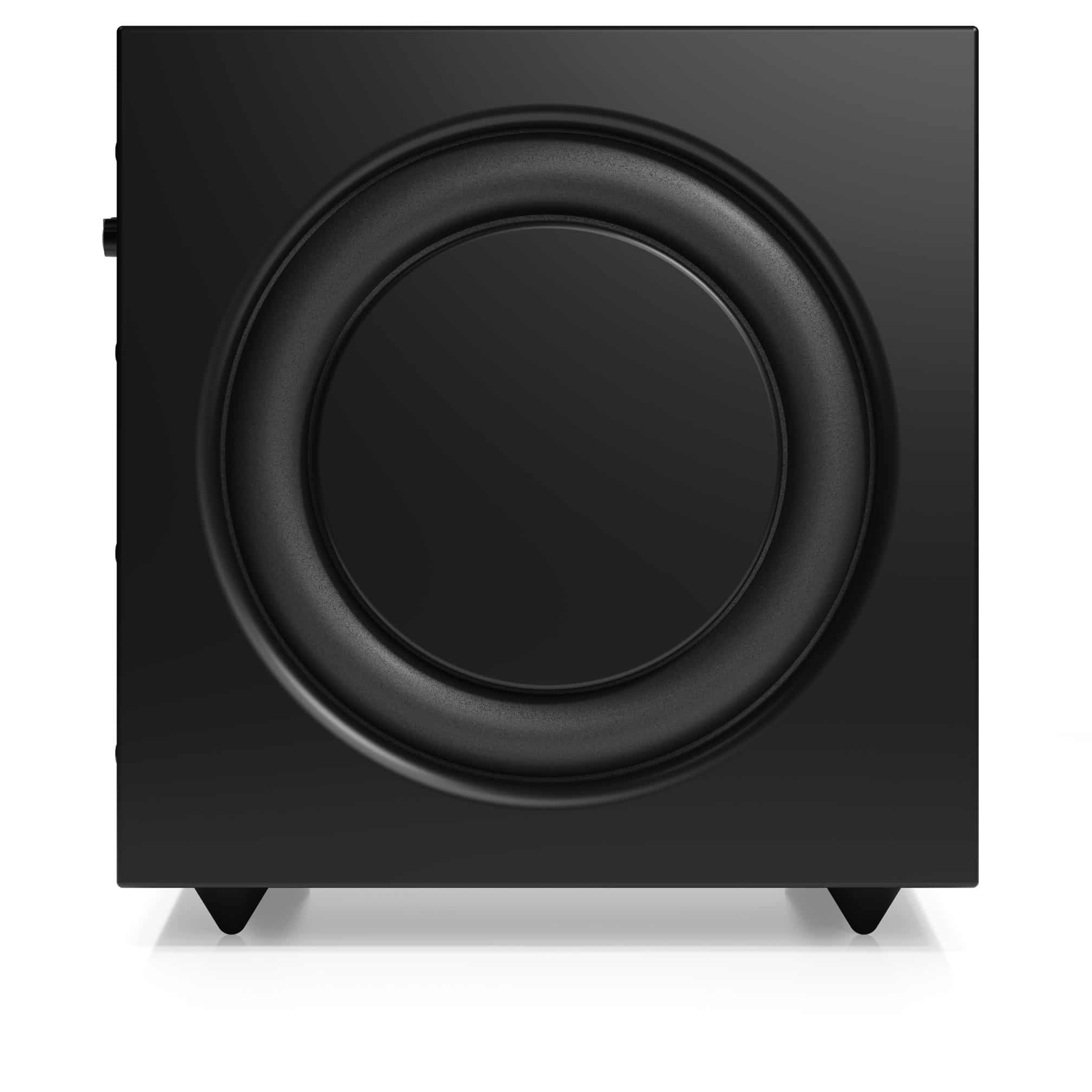 Active subwoofer SW 10 black side1 AudioPro