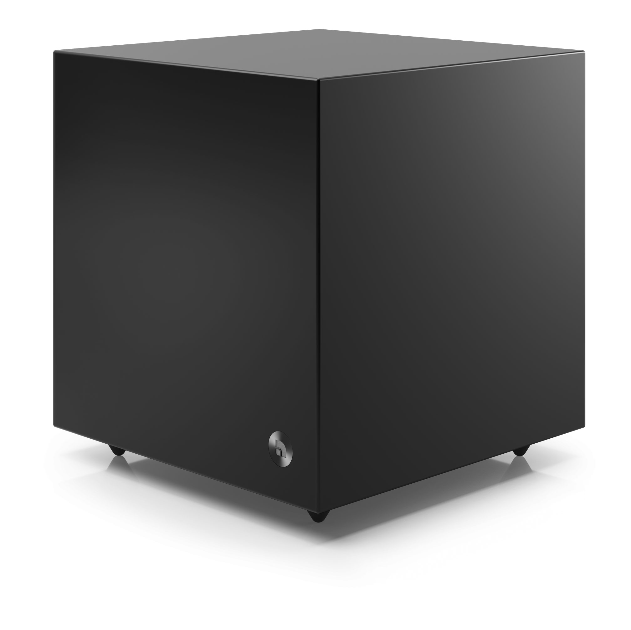 Active subwoofer SW 5 black angle1 AudioPro