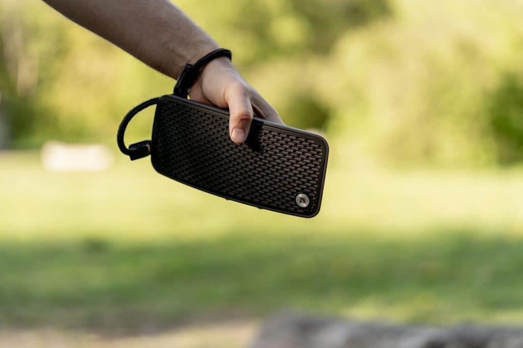 wireless bluetooth speaker P5 Batterypowered lifestyle AudioPro 06