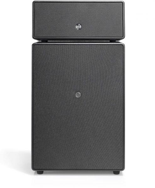 wireless-multiroom-speaker-Drumfire-black-works-with-alexa-AudioPro-600x493